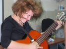 Традиционный святочный Капустник. С гитарой участница детской программы Святок А. Пронякина - жжот.